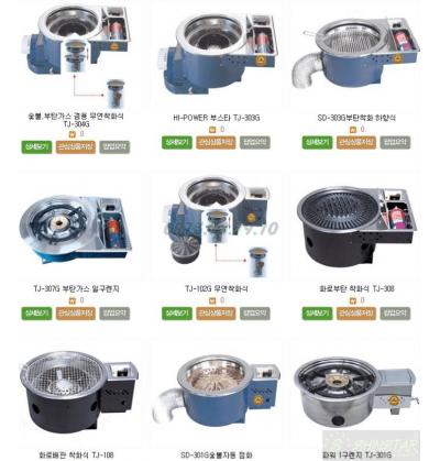 Giới thiệu các mẫu bếp nướng gas Hàn Quốc không khói