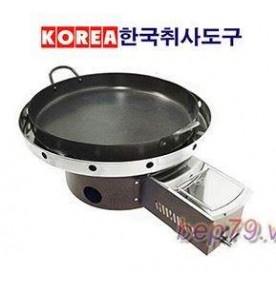 Bếp nướng gas Hàn quốc-Nướng chảo
