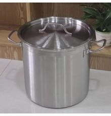 Nồi inox đáy 3 lớp chuyên dụng bếp từ công nghiệp 24L-30L-36L-50L-70L-100L