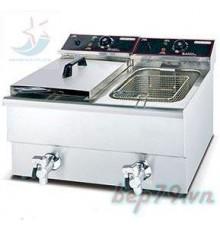 Bếp chiên nhúng điện đôi 12L-2