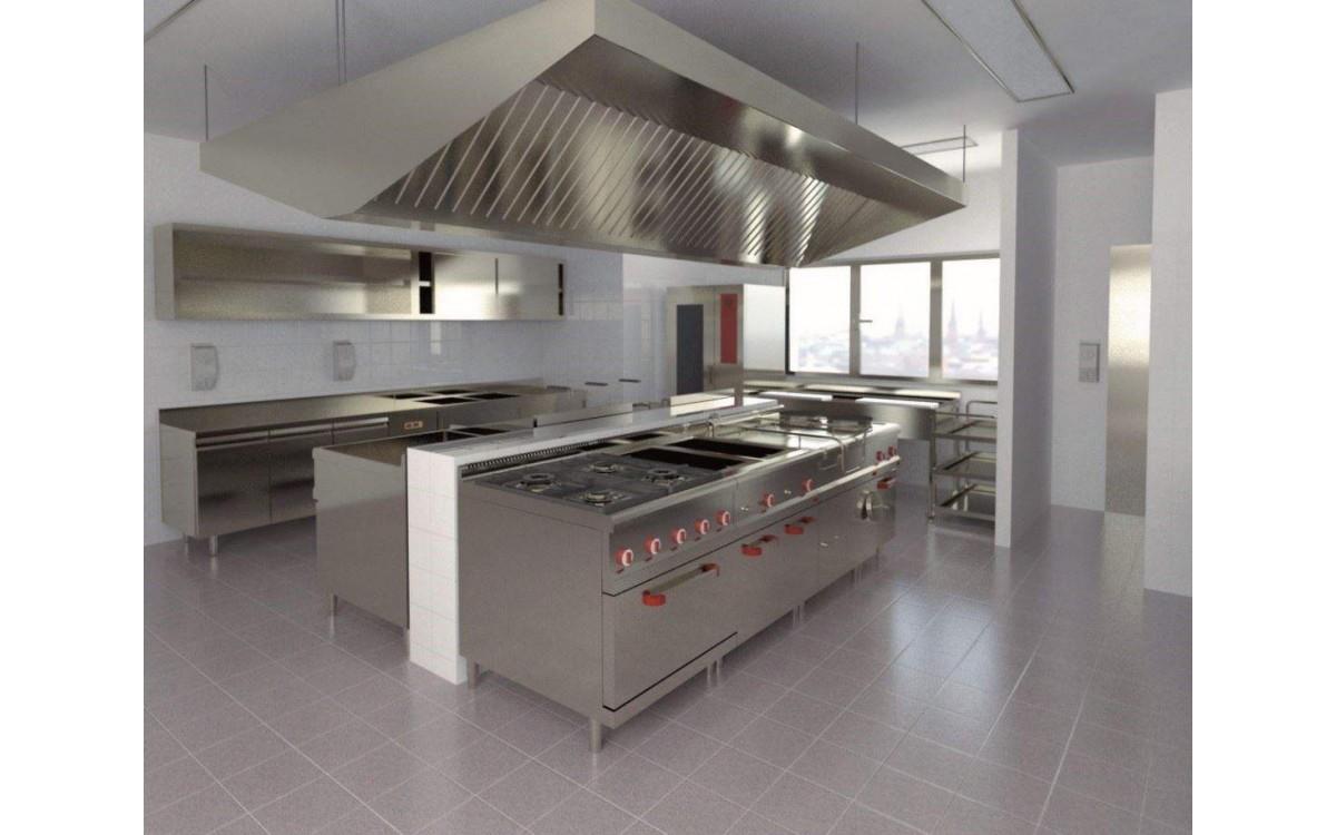 Bếp công nghiệp sản phẩm không thể thiếu trong các nhà hàng