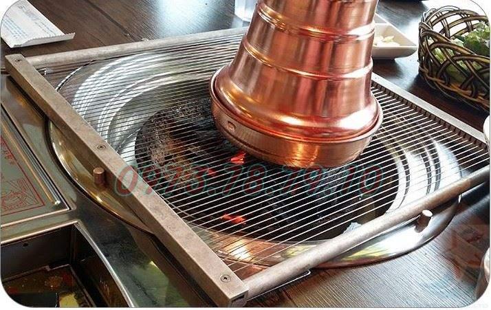 ống hút khói bếp nướng lẩu