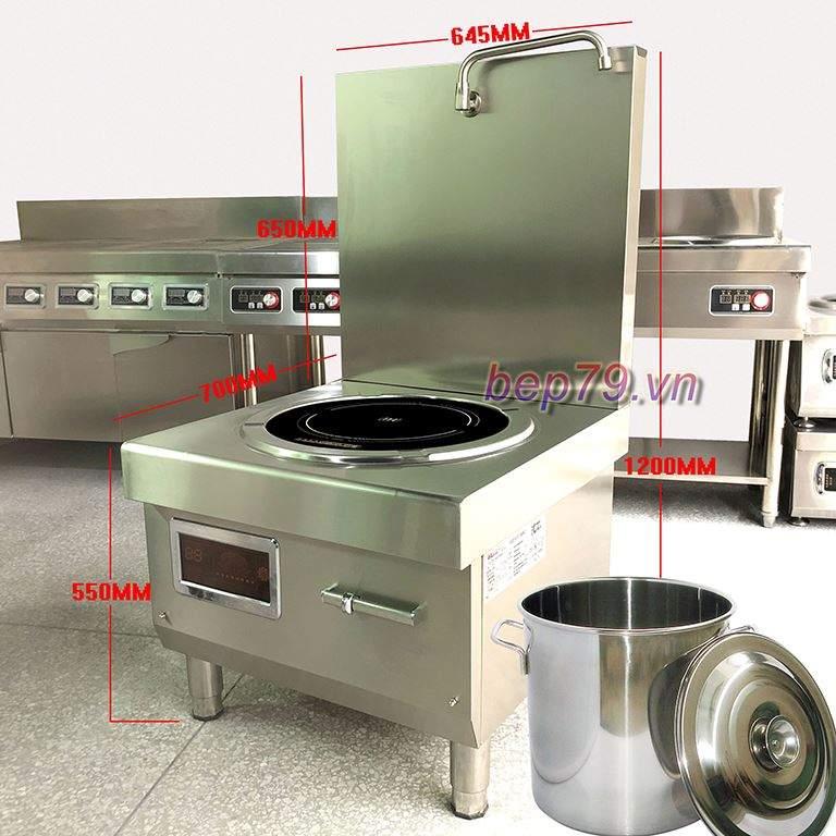 Bếp từ phẳng công suất 15kw